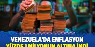 Venezuela'da enflasyon yüzde 1 milyonun altına indi