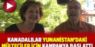 Kanadalılar Yunanistan'daki mülteciler için kampanya başlattı